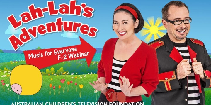 Lah-Lah's Adventures: Music For Everyone Webinar